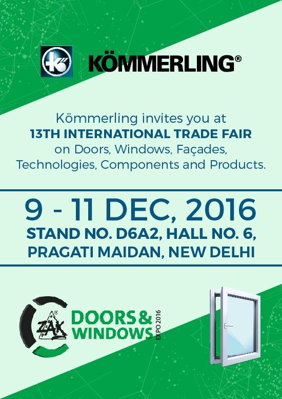 ZAK Doors & Windows Expo – 2016