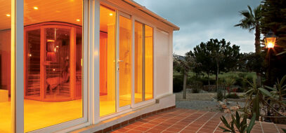 Which one will work best for the balcony: uPVC windows or doors?
